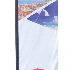 Medium Rectangle Flag - Double Sided Combo