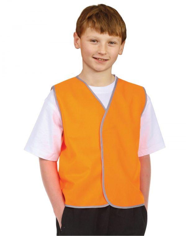 Hi-Vis Kid's Safety Vest