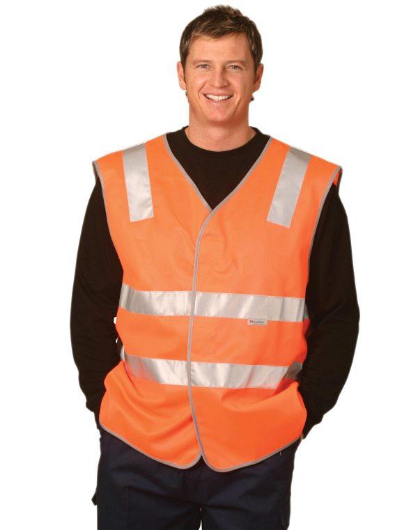 Hi-Vis safety vest reflective tapes