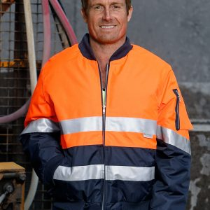 Hi-Vis Two Tone Flying Jacket With 3M Tapes