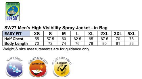 Hi Vis Spray Jacket