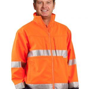 Hi-Vis 2-tone safety jacket 3M tape