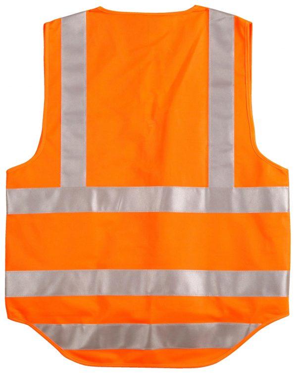 Hi-Vis Safety Vest with ID Pocket & R/F Tapes