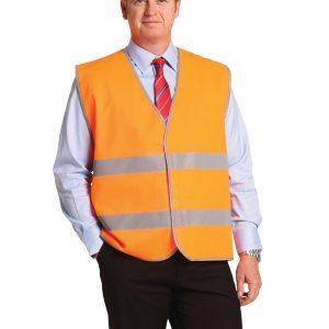 Hi-Vis Safety Vest With Reflective Tapes