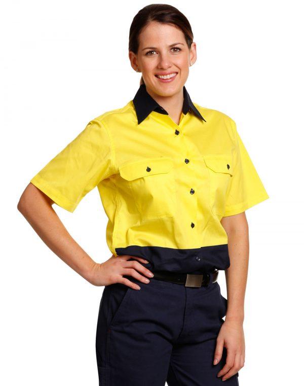Ladies' Hi-Vis S/S Safety Shirt