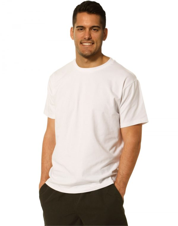 Men's fitted stretch tee