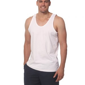 Men's cotton singlet