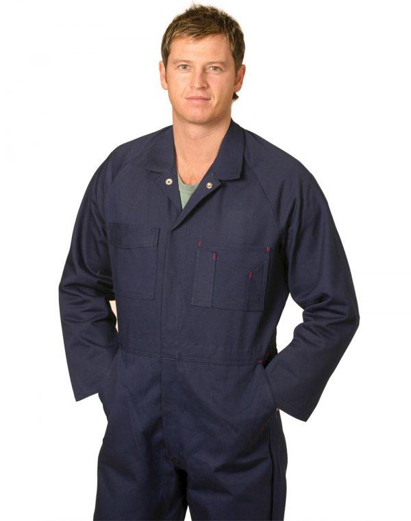 Men's Cotton Drill Coverall-Regular