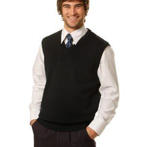 V Neck Wool / Acrylic Knit Vest