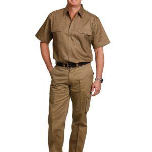drill pant pocket on leg / long fit