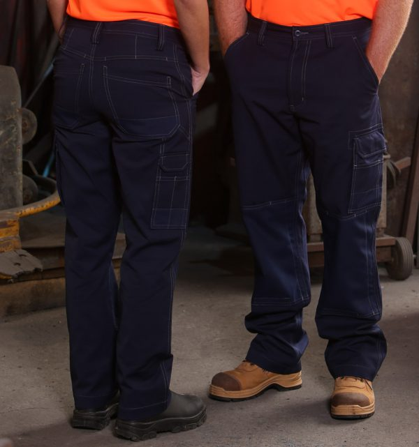 Light Weight Semi-Fitted Cordura Work Pants