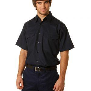 drill shirt pocket pen holder S/S